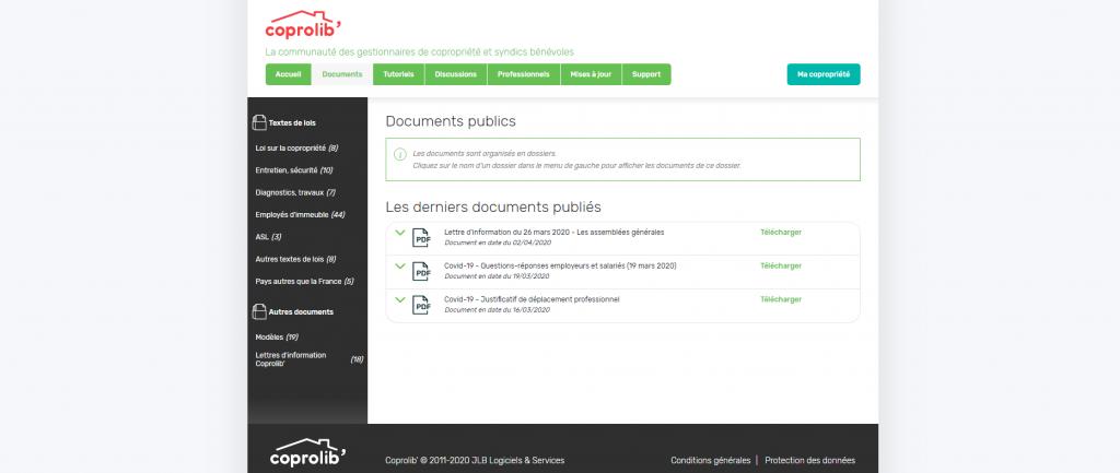 Communauté - Documents